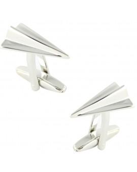 Paper Plane Cufflinks