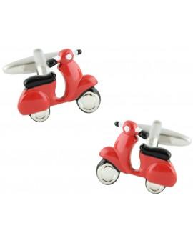 Red Scooter Cufflinks