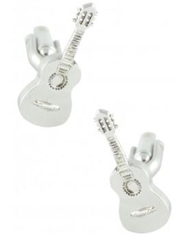 3D Spanish Guitar Cufflinks