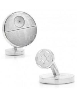 Death Star Blueprint Star Wars Cufflinks