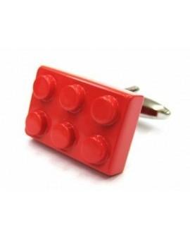 Red LEGO Brick Cufflinks