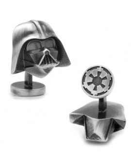 Gemelos 3D Antique Silver Darth Vader Star Wars