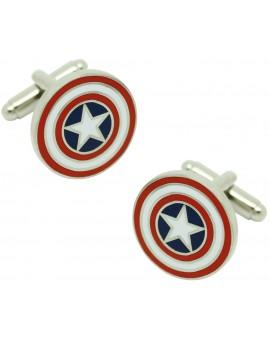 Captain America Shield Cufflinks original
