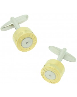 3D Colt Cartridge Cufflinks
