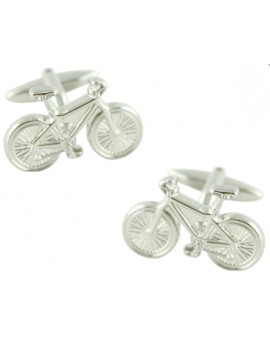 3D Bicycle Cufflinks