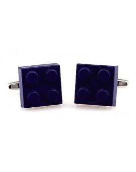 Blue LEGO Brick Cufflinks