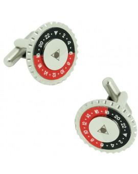 Gemelos Speedometer Negro y Rojo