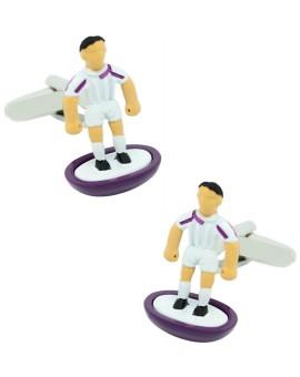 Real Madrid Subbuteo Player Cufflinks