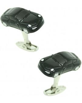 Black Porsche Cufflinks
