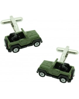 Gemelos Jeep Willys Verde