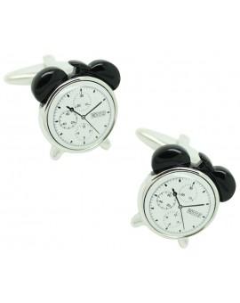 Alarm Clock black Cufflinks
