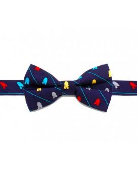 Darth Vader Pink and Navy Skinny Tie