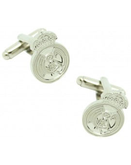 Plated Real Madrid FC Cufflinks