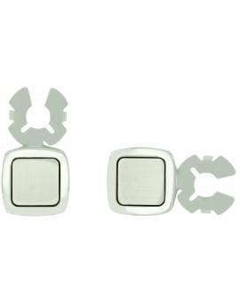 Square Button Covers