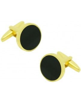 Black Obsidian Cufflinks