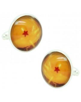 Gemelos de camisa Dragon Ball 1 Estrella