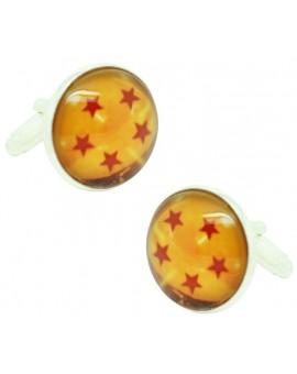 5 Stars Dragon Ball Cufflinks