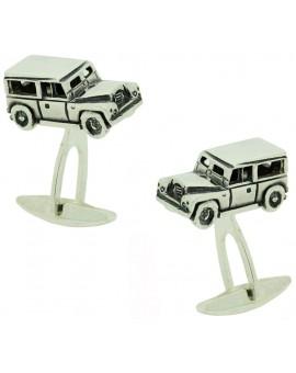 Gemelos Land Rover Defender Plata 925