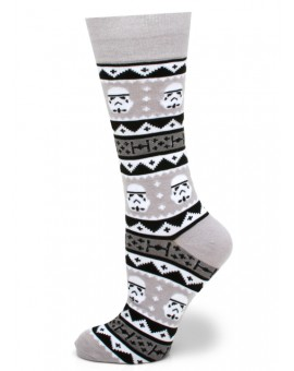 Storm Trooper Holiday Edition Star Wars Socks