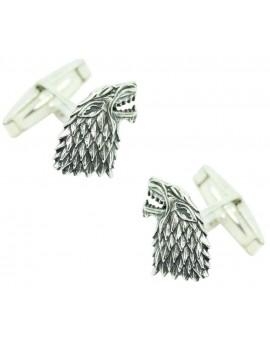 Sterling Silver Stark House Cufflinks