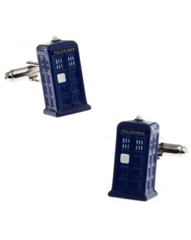 TARDIS Doctor Who Cufflinks for man