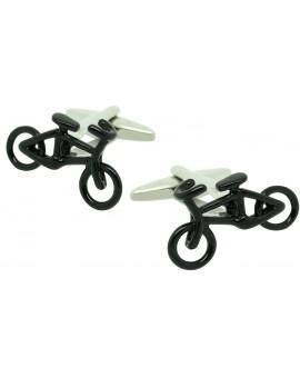 Gemelos Bicicleta de Carreras Negra