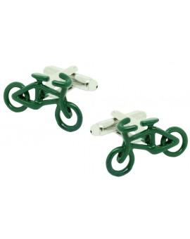 Gemelos para camisa Bicicleta de Carreras Verde