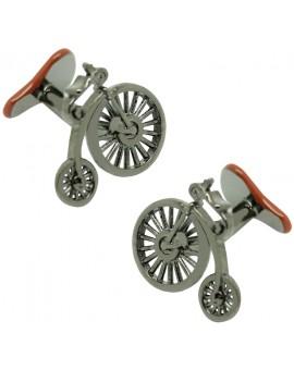 Gemelos para camisa Bicicleta Victoriana y Sillín
