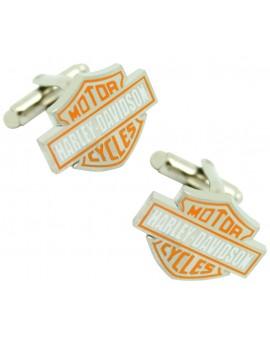 Harley Davidson Logo Cufflinks