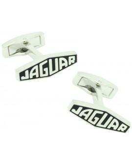 Gemelos para camisa Logo Letras Jaguar Negro