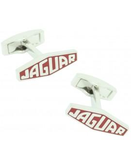Gemelos para camisa Logo Letras Jaguar Rojo