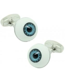 Gemelos para camisa Ojo Azul