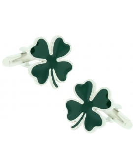 Four Leaves Clover Cufflinks