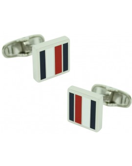 Striped Tommy Hilfiger Cufflinks