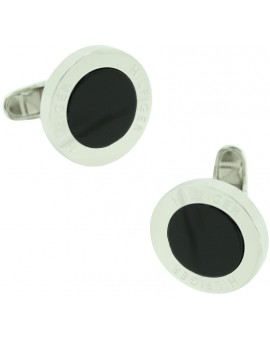 Black Circle Tommy Hilfiger Cufflinks