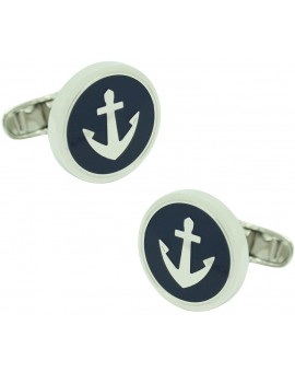 Navy Anchor Tommy Hilfiger Cufflinks