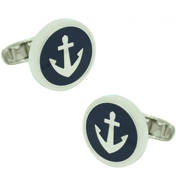 Gemelos para camisa Ancla Navy Tommy Hilfiger