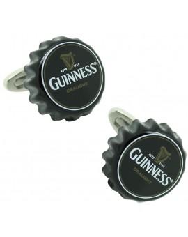 Gemelos Chapa de Cerveza Guinness