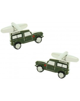 Military Land Rover Defender Cufflinks