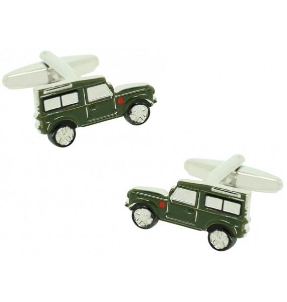Military Land Rover Defender Cufflinks