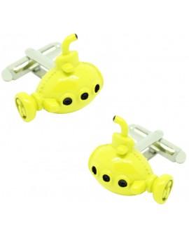 The Beatles Yellow Submarine Cufflinks