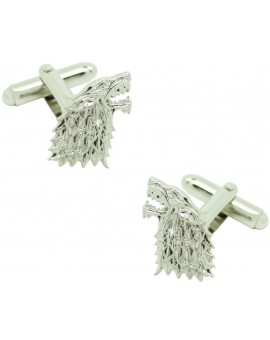Game of Thrones 3D Plated House of Stark Symbol Cufflinks