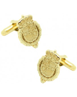 Golden Royal House Felipe VI Cufflinks