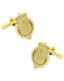 Golden Royal House Felipe VI Cufflinks