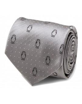 Porg Dot Grey Tie