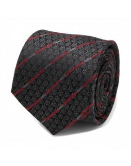 Darth Vader Black Lightsaber Stripe Tie