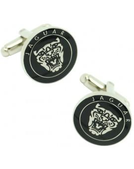 Gemelos Logo Parrilla Jaguar Negro