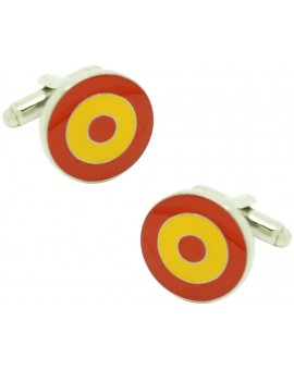 Spanish Military Aircraft Insignia Cufflinks