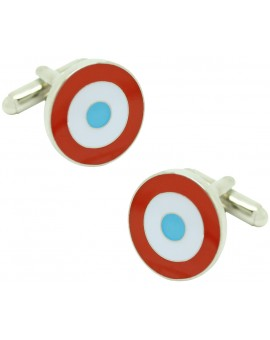 French Military Aircraft Insignia Cufflinks