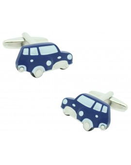 Gemelos Mini Cooper Azul Marino